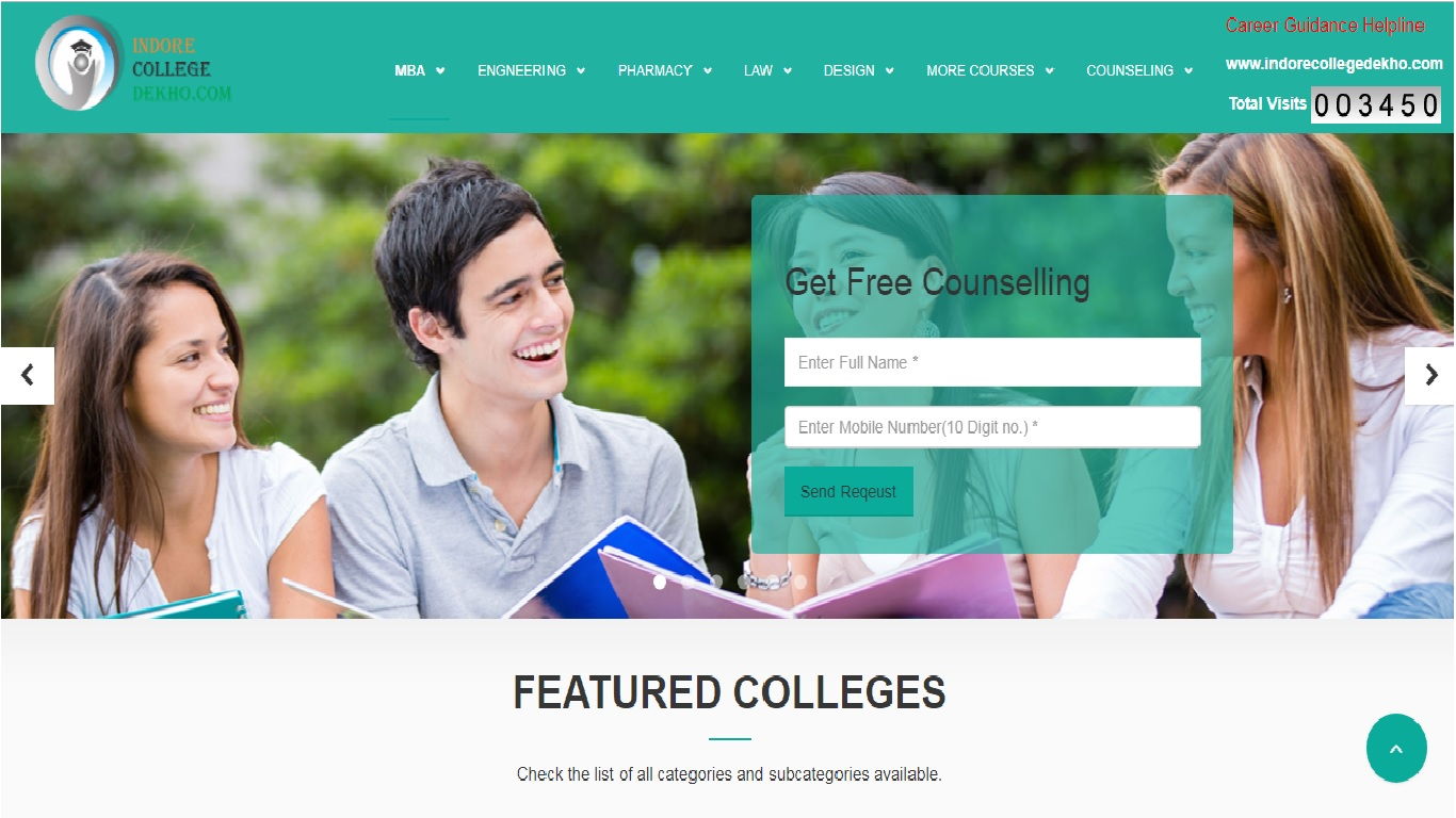 Indore College Dekho COllege Search Directory