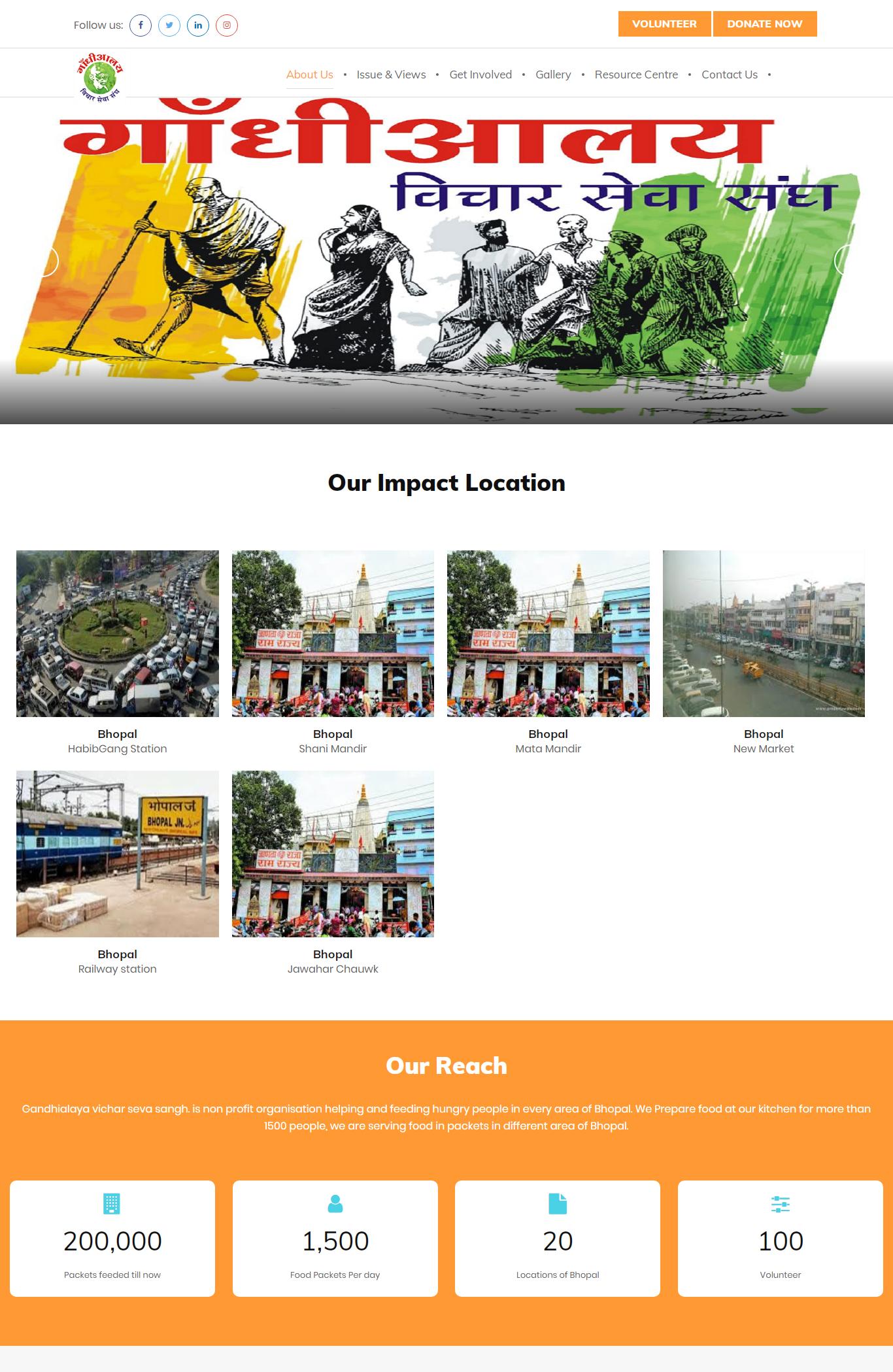GandhiAlaya Vicha Sewa Sangh